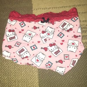 Hello Kitty Valentine Panties ♥️